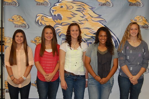 Lady Royals Softball Inks Five Student-Athletes for 2014